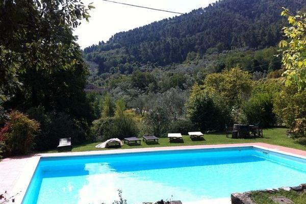 Vakantie accommodatie Bacchereto Toscane,Florence en omgeving 6 personen