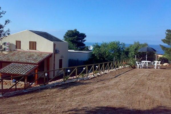 Vakantie accommodatie Castellammare del Golfo Sicilië 4 personen