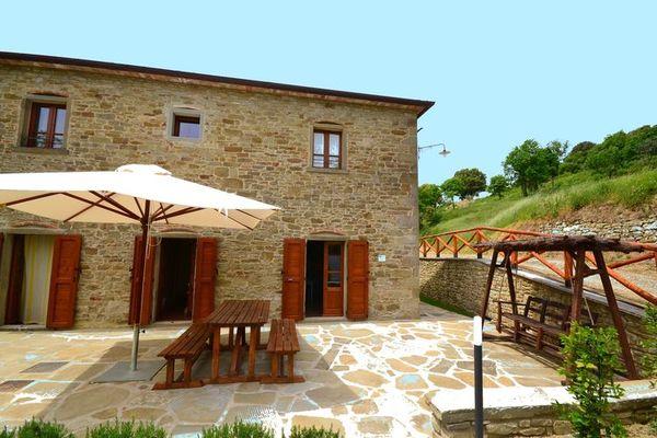 Vakantie accommodatie Anghiari Toscane 2 personen
