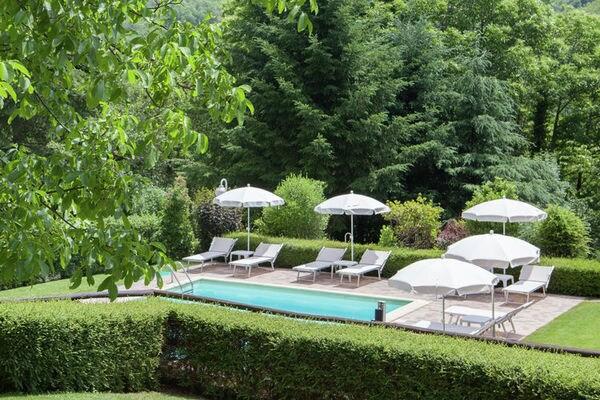Vakantie accommodatie Raggiolo Toscane 5 personen