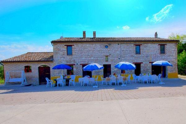 Vakantie accommodatie Isola di Fano Le Marche 20 personen