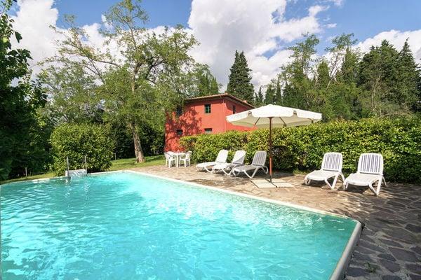 Vakantie accommodatie Ghizzano Toscane,Florence en omgeving 4 personen
