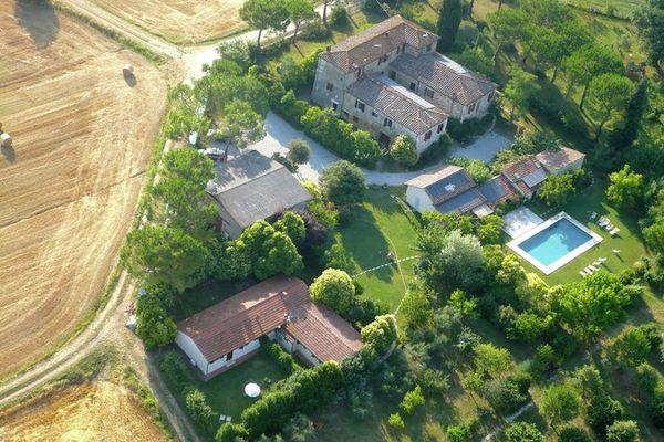 Vakantie accommodatie Asciano Toscane,Siena en omgeving 4 personen