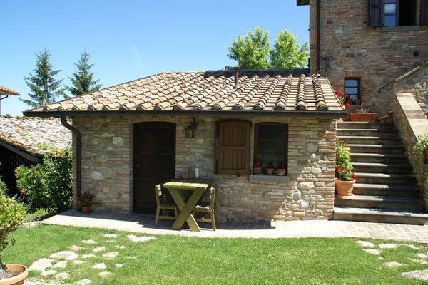 Vakantie accommodatie Montone Umbrië 2 personen