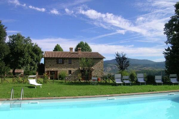 Vakantie accommodatie Radicofani Toscane,Siena en omgeving 4 personen
