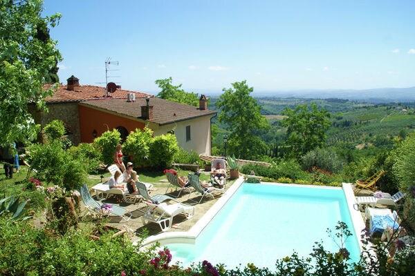 Vakantie accommodatie Tavarnelle Val di Pesa Toscane,Florence en omgeving 3 personen
