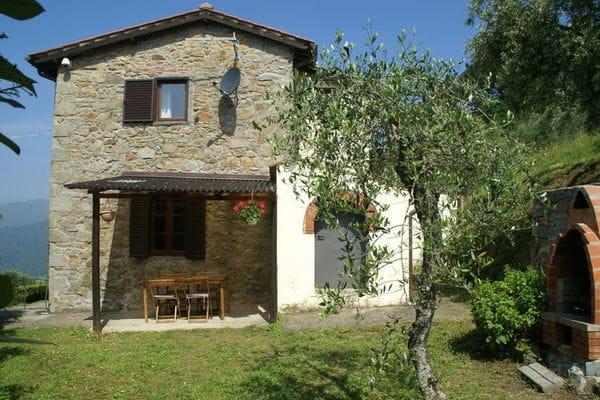 Vakantie accommodatie Pescia Toscane 7 personen