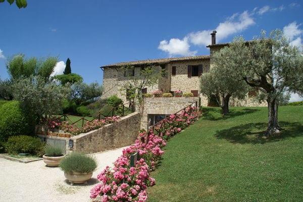 Vakantie accommodatie Assisi Umbrië 4 personen