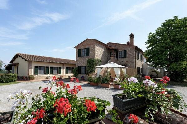 Vakantie accommodatie Foiano della Chiana Toscane 6 personen