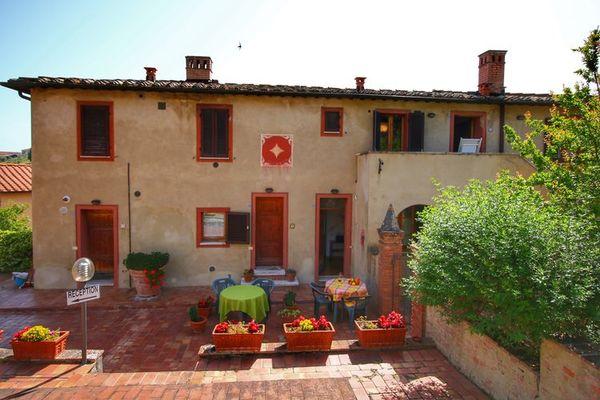 Vakantie accommodatie Siena Toscane,Siena en omgeving 2 personen