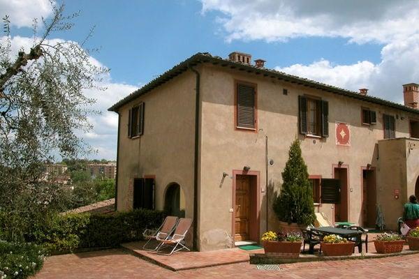 Vakantie accommodatie Toscane,Siena en omgeving Italië 5 personen