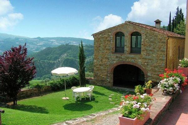 Vakantie accommodatie Dicomano Noord-Italië,Toscane,Florence en omgeving 8 personen