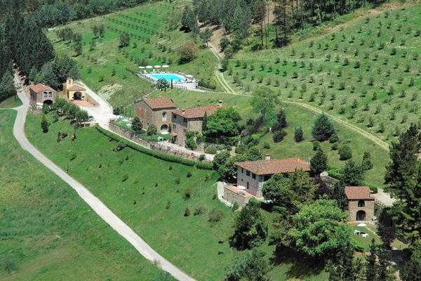Vakantie accommodatie Dicomano Noord-Italië,Toscane,Florence en omgeving 12 personen