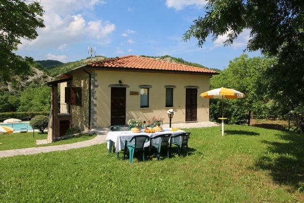 Vakantie accommodatie Apecchio Le Marche 3 personen