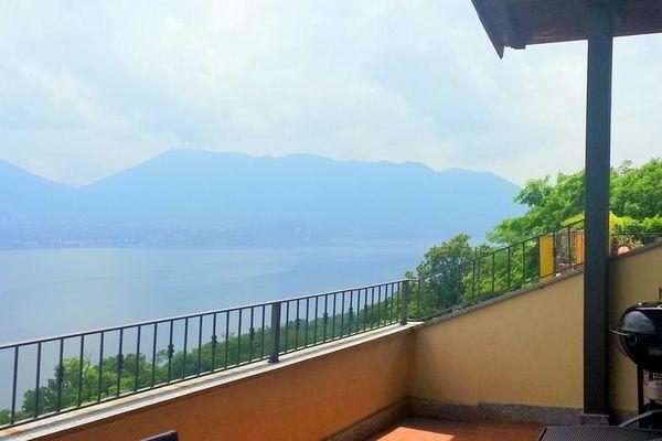 Vakantie accommodatie Oggebbio Italiaanse meren,Lago Maggiore,Noord-Italië,Piemonte 6 personen