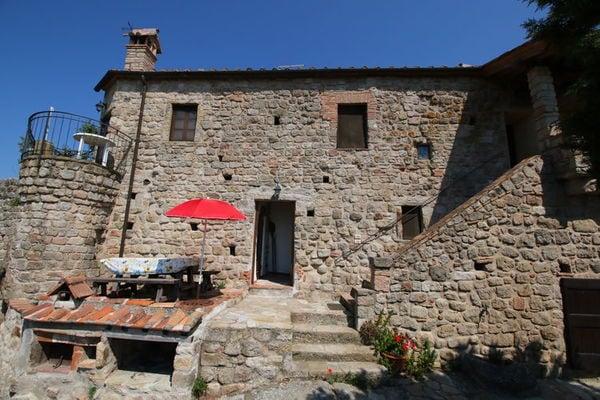 Vakantie accommodatie Roccastrada Toscane,Siena en omgeving 2 personen