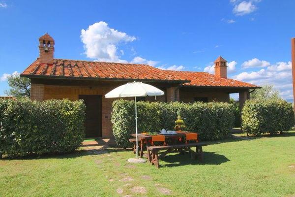 Vakantie accommodatie Castiglione del Lago Umbrië 4 personen