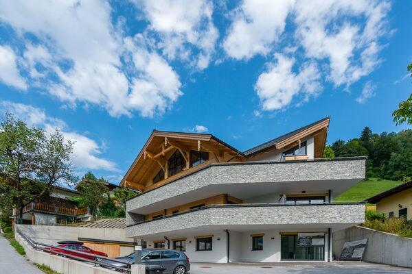 Penthouse an der Piste 4 Alpendorf