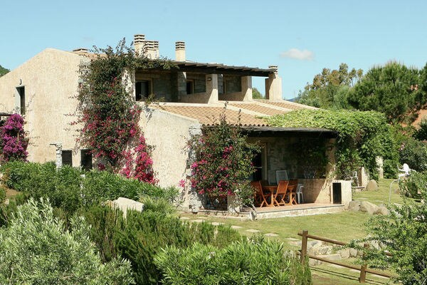 Vakantie accommodatie Castiadas Sardinië 6 personen