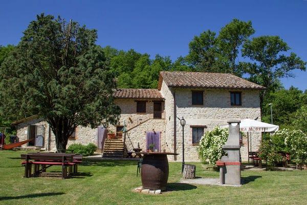 Vakantie accommodatie Umbrië Italië 2 personen