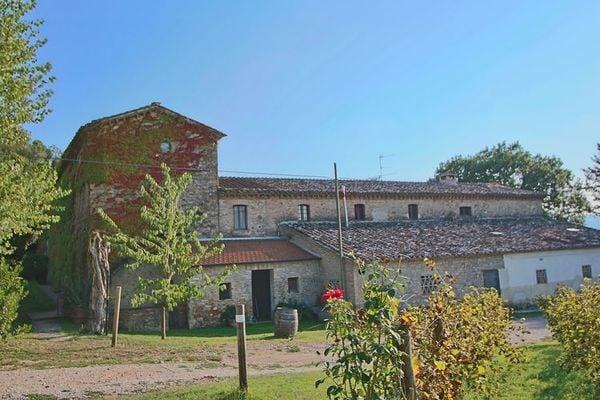 Vakantie accommodatie Umbertide Umbrië 6 personen