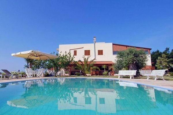 Vakantie accommodatie Puglia Italië 12 personen