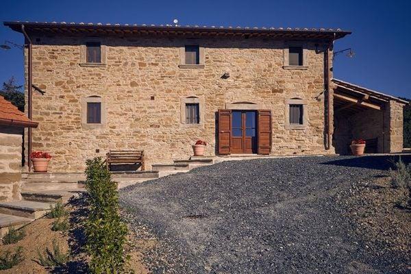 Vakantie accommodatie Anghiari Toscane 7 personen