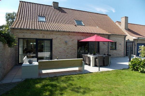 Vakantie accommodatie Vlaanderen,Westhoek,West-Vlaanderen België 8 personen