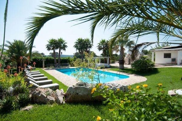 Vakantie accommodatie Puglia Italië 9 personen