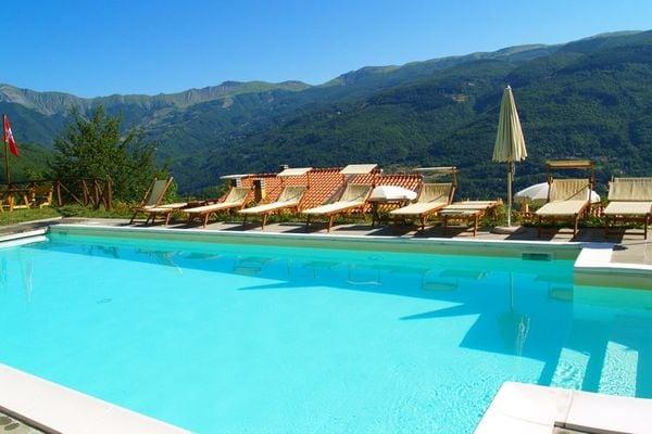 Vakantie accommodatie Cutigliano Noord-Italië,Toscane 4 personen