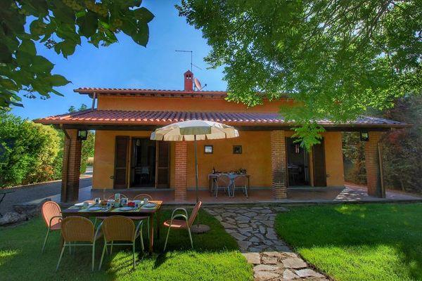 Vakantie accommodatie Chianacce Toscane,Siena en omgeving 8 personen