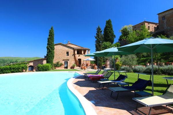 Vakantie accommodatie Montalcino Toscane,Siena en omgeving 4 personen