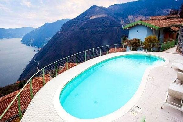Vakantie accommodatie Plassi Italiaanse meren,Iseomeer,Lombardije,Noord-Italië 4 personen