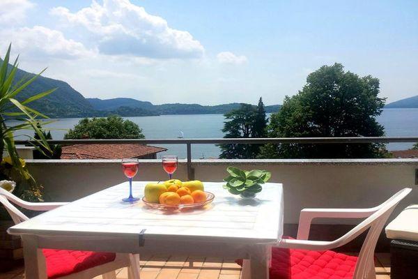 Vakantie accommodatie Ghiffa Italiaanse meren,Lago Maggiore,Noord-Italië,Piemonte 2 personen