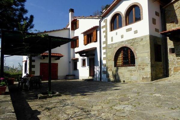 Vakantie accommodatie Londa Toscane,Florence en omgeving 10 personen