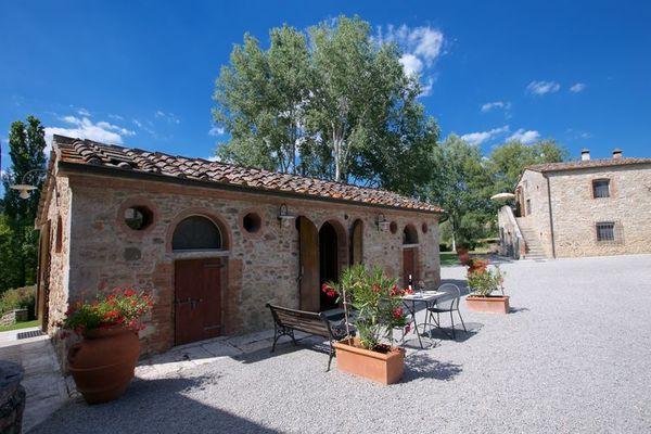 Vakantie accommodatie Rapolano Terme Toscane,Siena en omgeving 3 personen