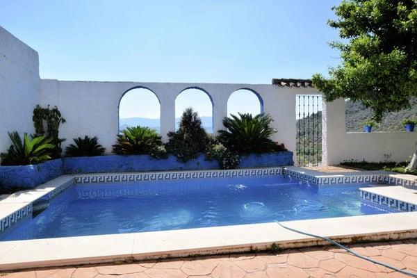 Ferienwohnungen/Ferienhäuser: Andalusische Villa mit privatem Pool in dem malerischen Dorf Zagrilla Alta (max. 6 Personen)