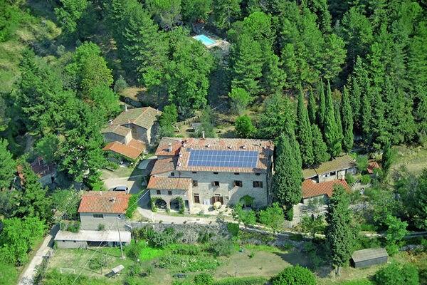 Vakantie accommodatie Castelfranco Piandiscò Toscane,Florence en omgeving 5 personen