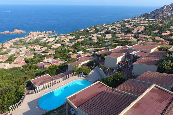 Vakantie accommodatie Costa Paradiso Sardinië 6 personen
