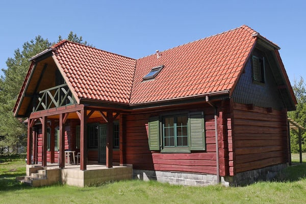 House in the Kashubian village