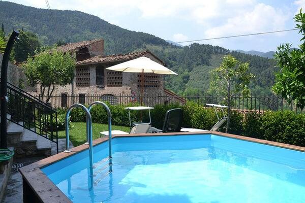 Vakantie accommodatie Toscane,Pisa-Lucca en omgeving Italië 6 personen