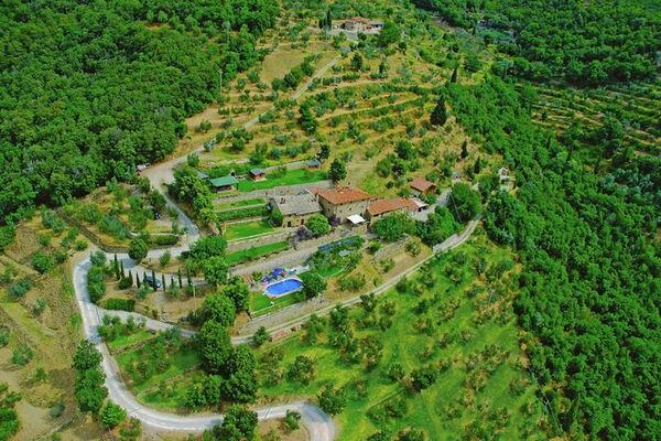 Vakantie accommodatie Cortona Toscane 6 personen