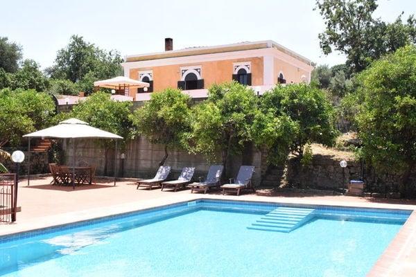 Vakantie accommodatie Carlentini Sicilië 6 personen
