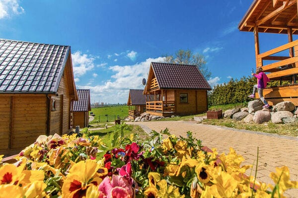 Cottages in seaside agrotourism