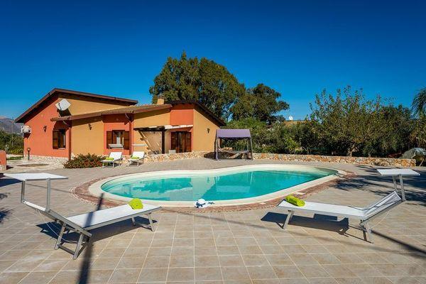 Vakantie accommodatie Sicilië Italië 5 personen