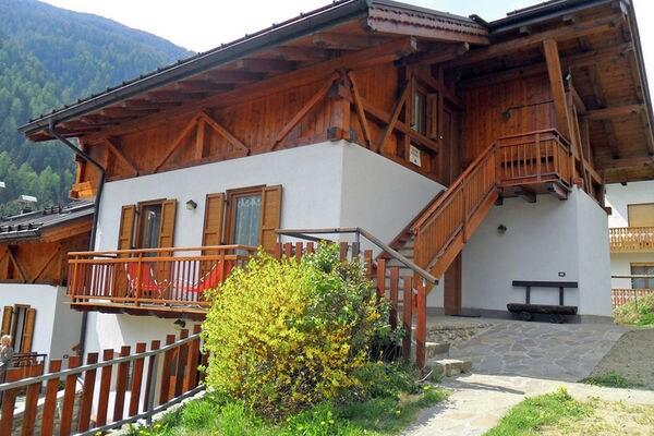 Vakantie accommodatie Peio Trentino-Zuid-Tirol,Noord-Italië 6 personen