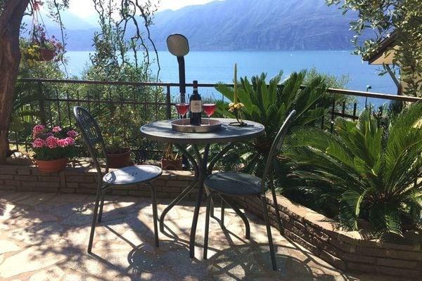 Vakantie accommodatie Brenzone Italiaanse meren,Gardameer,Noord-Italië,Veneto / Venetië 3 personen