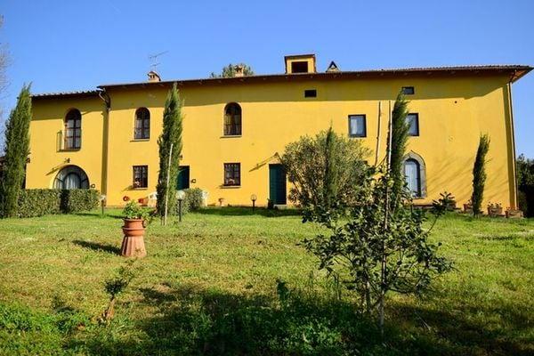 Vakantie accommodatie Vinci Toscane,Florence en omgeving 6 personen