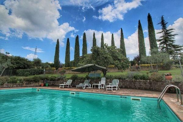Vakantie accommodatie Ficulle Umbrië 8 personen