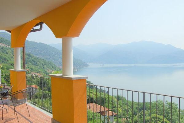 Vakantie accommodatie Oggebbio Italiaanse meren,Lago Maggiore,Noord-Italië,Piemonte 4 personen